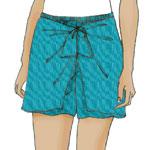 Sarong-Shorts