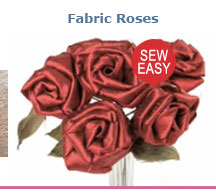 Fabric Roses
