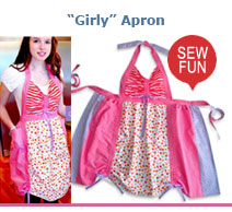 Girly Apron