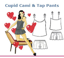 Cupid Cami & Tap Pants