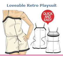 Retro Playsuit