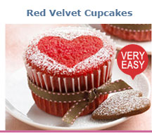 Red Velvet Cupcakes Recipe