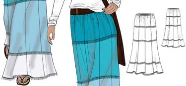 Tropicana Maxi Skirt