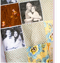 Family Photo Quilt
